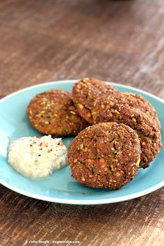 Baked Parippu Vada Recipe - Chana Dal Vada. Chana Dal (Split chickpea) Fritters. Easy fritters with curry leaves and ginger. Use other spices and lentils for variation. Vegan Gluten-free soy-free Recipe   VeganRicha.com