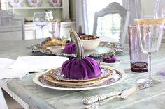 Maison Decor: DIY Designer Pumpkins for a Holiday Table