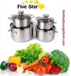 Bộ nồi Fivestar 4 chiếc bền bỉ theo thời gian