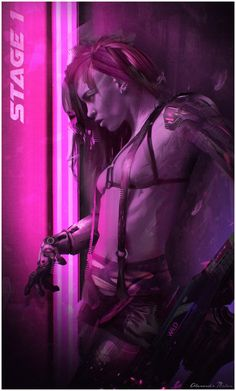 A collection of all things scifi, cyberpunk and otherworldly to fuel the ever…