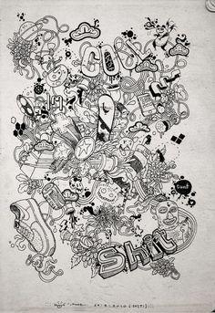 Doodle Arts by SPOKEDUCK , via Behance