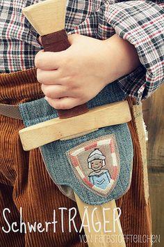 Swordtails, patterns and instructions.    Holzschwert, selbermachen, Geschenk für Jungs, farbenmix