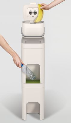 PearsonLloyd and Joseph Joseph's Intelligent Waste bins for home recycling