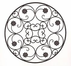 Wrought Iron Wall Decor Wrought Iron Wall Decor, Metal Wall Decor, Metal Wall Art, Arabesque, Wiccan Crafts, Paper Wall Art, Iron Furniture, House Ornaments, Iron Work