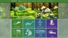Erdőgép - weboldala Web Design, Design Web, Website Designs, Site Design