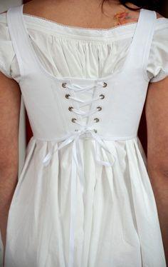 Vogue Fashion, Boho Fashion, Vintage Fashion, Fashion Design, Medieval Clothing, Historical Clothing, Vestidos Vintage, Vintage Dresses, Moda Boho