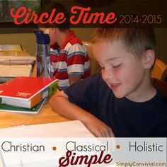 Our 2014-2015 Homeschool Year: Circle Time (aka Morning Time) | Simply Convivial