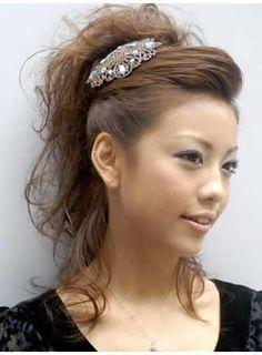 Long Asian hair styles for women