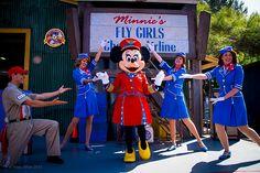 Minnie's Fly Girls Charter Airline @ Disney California Adventure