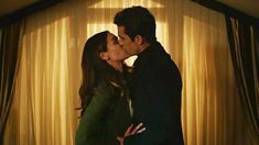 Ferhat Asli first Kiss (eng sub) Aslan Quotes, Kissing Scenes, Black And White Love, Tv Show Quotes, First Kiss, Episode 5, Turkish Actors, Famous People, Tv Shows