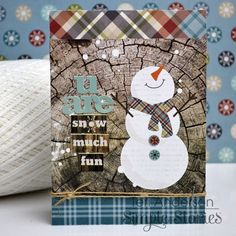 Card by design team member Teri Anderson featuring the Snow Patrol Simple Set
