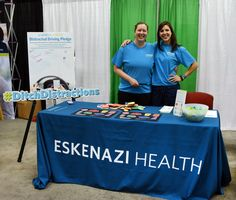 Members of the Smith Level I Shock Trauma Center at #EskenaziHealth were at Indiana Black Expo to talk about the dangers of distracted driving. Do NOT text and drive, and minimize other distractions as well. Here are some tips:  1. Use your cellphone for emergency situations only. 2. Avoid eating while driving. 3. Pull off the road if you are drowsy. 4.. Limit the number of passengers and the level of energy inside the car. 5. Don't multitask while driving. Focus on the road…