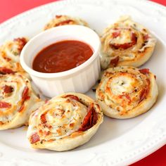 Pizza Pinwheels ~