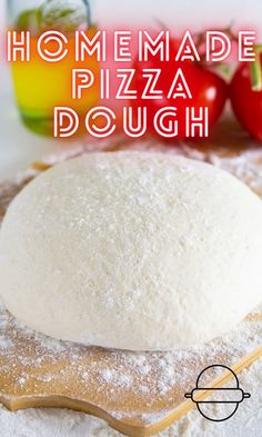 A simple yet versatile homemade pizza dough recipe that is so easy and scrumptious. #homemadepizzadough #homemadedough #pizza #homemadepizza #bread