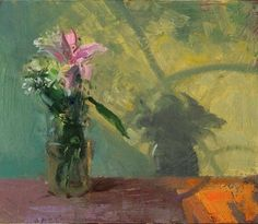 """Bouquet and Window Light, 7/31/2014"" by Duane Keiser #Realism"