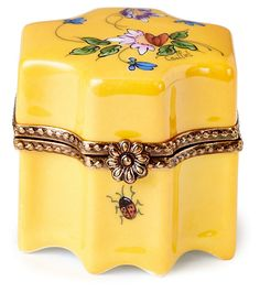One Kings Lane - With Love - Perfume Bottle Limoges Box