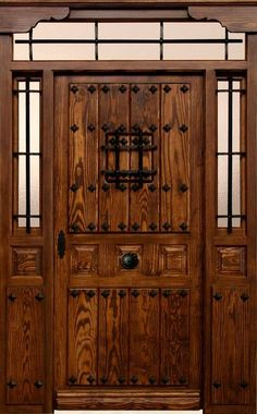 herrajes puertas rusticas - Buscar con Google                                                                                                                                                      Más