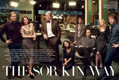 The Newsroom- My ABSOLUTE new favorite show. Love it!!!! Aaron Sorkin is a wizard with words!!!