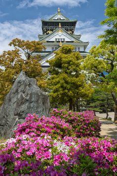 Osaka Castle by Aleksander Poniewierski on 500px