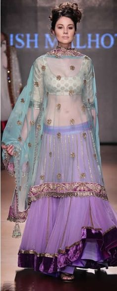 @ManishMalhotra1's WoW #Desi, Indian #Fashion #Lehenga, Shop: http://www.manishmalhotra.in/shop-the-collection.html