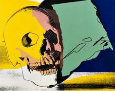 Skull - silkscreen, Andy Warhol 1976