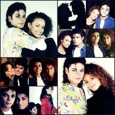 Michael Jackson & Tatiana Y Thumbtzen Collage