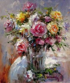 picture of flower paintings - Google Search