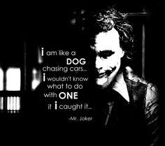 All teenage girls probably interpreted this the same way I did :)= joker heath ledger | Mr joker. Quote. Heath Ledger. Aussie