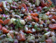 Салат из фасоли, сладкого перца и помидоров черри | Официальный сайт кулинарных рецептов Юлии Высоцкой