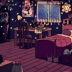 Home cosiness art cartoon room on We Heart It Pretty Art, Cute Art, Aesthetic Art, Aesthetic Anime, Bedroom Drawing, Japon Illustration, Anime Scenery, Oeuvre D'art, Cute Drawings