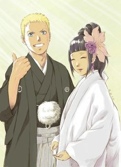 Naruto and Hinata wedding picture