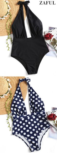 Up to 80% OFF! Halter High Waisted Polka Dot Swimsuit. #Zaful #Swimwear #Bikinis zaful,zaful outfits,zaful dresses,spring outfits,summer dresses,Valentine's Day,easter,super bowl,st patrick's day,cute,casual,fashion,style,bathing suit,swimsuits,one pieces,swimwear,bikini set,bikini,one piece swimwear,beach outfit,swimwear cover ups,high waisted swimsuit,tankini,high cut one piece swimsuit,high waisted swimsuit,swimwear modest,swimsuit modest,cover ups @zaful Extra 10% OFF Code:ZF2017