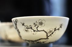 antique chinese bowl, Qing Dynasty, British Museum by 大麦茶, via Flickr