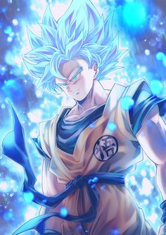 Dragon Ball Z strongest Character Vegito - Vegito, a fusion between Goku and Vegeta becoming one being. Dragon Ball Gt, Dragon Ball Image, Wallpaper Do Goku, Dragonball Wallpaper, Wallpaper Art, Dragonball Goku, Super Anime, Goku Super, Super Saiyan Blue 3