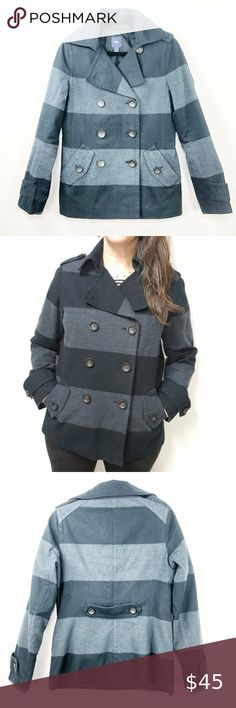 RAMPAGE WOMENS RED OR DARK GREY  PEACOAT SIZE LARGE RETAIL $70 NEW