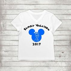 Family Vacation Disney- Disney Family With Names, Donald Birthday Party, Disneyworld Birthday Party, Team Donald Shirts, Disney Family Trip