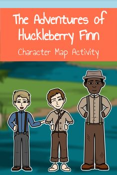 Keep track of characters in Huckleberry Finn with this fun activity! Track their character traits and impact on Huck. Includes template and instructions. Character Activities, Map Activities, Adventures Of Huckleberry Finn, Character Trait, Third Grade, Lesson Plans, Track, Template, Characters