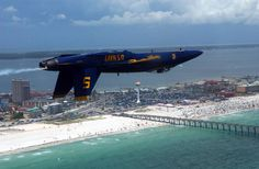 Navy Blue Angels #5 Inverted. My hometown. Put in a lot of time on that fishing pier back in the 60's.