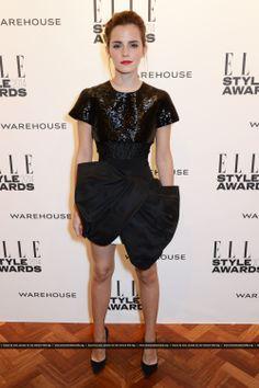Emma Watson attends Elle Style Awards 2014 on February, 18.