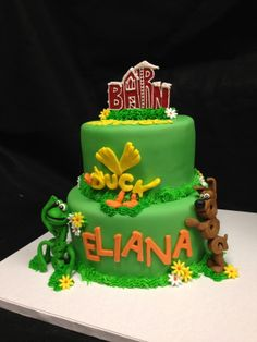 Birthday Cakes - Word World Cake