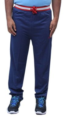 Romano Men's Stylish Blue Cotton Track Pant *** Instant discounts available  : 99 cent sports and outdoors