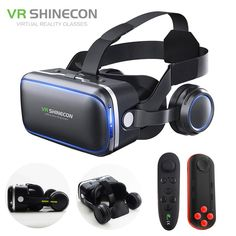 6.0 Pro Stereo Headset Virtual Reality 3D Glasses