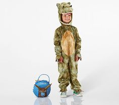 T-Rex Costume - With a plush hood and soft bodysuit, this comfortable costume is brimming with playful prehistoric charm. T Rex Halloween Costume, T Rex Costume, Halloween 2018, Happy Halloween, Toddler Costumes, Halloween Accessories, Cool Kids, Kids Fun, Halloween Design