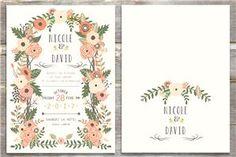 Floral Arch Invitation