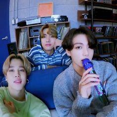Taehyung, Jungkook Jimin, Foto Jimin, Bts Bangtan Boy, Bts Boys, Jikook, Bts Group Photos, Bts Maknae Line, About Bts