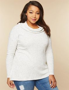 Plus Size Side Slit Nursing Top