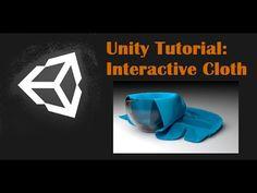Unity Tutorial: Interactive Cloth - YouTube