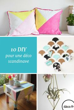 Voici 10 idées de créations DIY pour faire souffler un vent nordique dans votre salon !  http://www.deco.fr/photos/diaporama-salon-scandinave-diy-deco-scandinave-d_7157