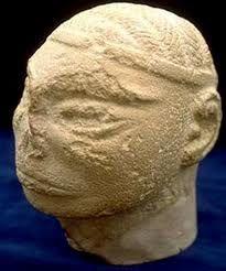 a head sculpture