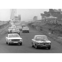 BMW 1800 TI in the 12 Hour Race at the Nürburgring 1964